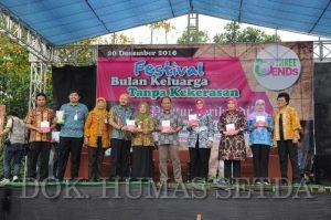 Festival Bulan Tanpa Kekerasan Berlangsung Meriah