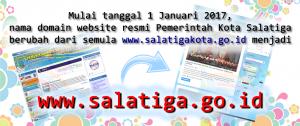 Website Pemkot Salatiga Berubah