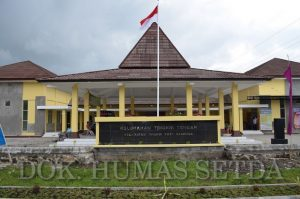 Pj Walikota Resmikan Kantor Baru Kelurahan Tingkir Tengah