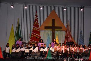 Perayaan Natal PNS, TNI, Polri, Guru, dan Karyawan Tingkat Kota Salatiga