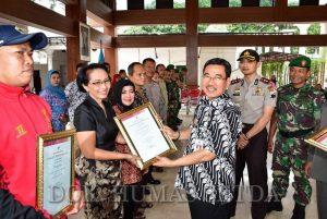 Pj. Walikota Serahkan Penghargaan Pendonor Darah Sukarela