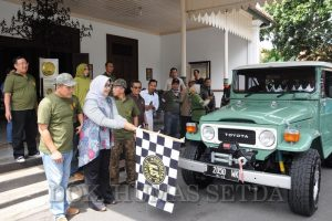 Komunitas Jeep Sragen Gelar Offroad Di Salatiga