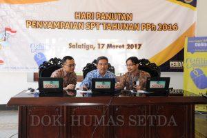 Pj Walikota Laporkan SPT Tahunan Pajak