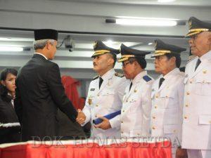Yuliyanto - Muh Haris Resmi Walikota dan Wakil Walikota Salatiga