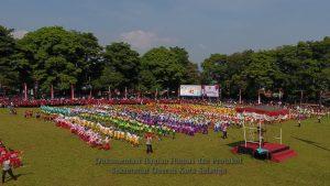 Dua Ribu Anak TK Meriahkan Peringatan Hardiknas Tingkat Kota Salatiga