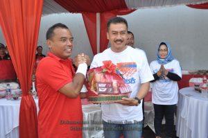 Bupati Purbalingga dan Walikota Salatiga Jalin Silaturahmi Lewat Bulutangkis
