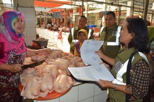 Hadapi Lebaran Satpol PP Patroli Edukasi Pedagang Daging