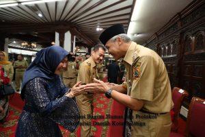 Walikota Salatiga Halal Bihalal dengan  Gubernur Jateng