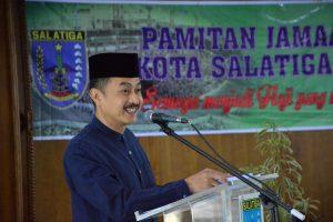 Walikota Doakan Calon Haji Menjadi Haji Mabrur