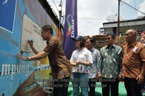 Walikota Resmikan Kampung Wisata Pancuran