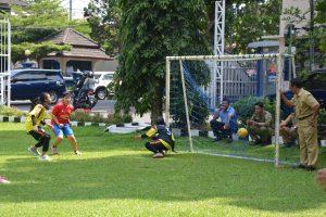 Futsal ASN Perempuan Berlangsung Histeris