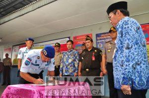 Rutan Salatiga Deklarasi Bersih Dari Narkoba, Pungli dan Handphone