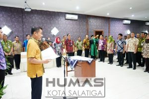 Walikota Lantik 32 Pejabat