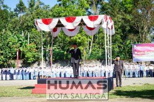 Walikota Pimpin Upacara Hardiknas