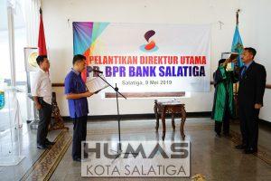 Walikota Lantik Dirut PD BPR Bank Salatiga