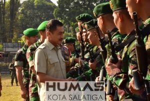 450 Prajurit Raider 411/Pandawa Siap Amankan Perbatasan