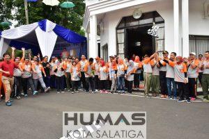 Ribuan Peserta Ikuti Jalan Sehat Hari Jadi ke-72 Koperasi