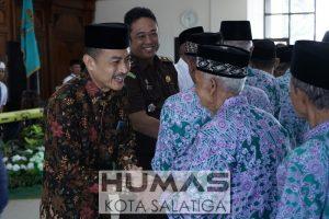 196 Jamaah Calon Haji Kota Salatiga Ikuti Pamitan Haji