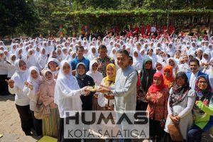 200 Guru PAUD Ikuti Flash Mob Tari Rampak