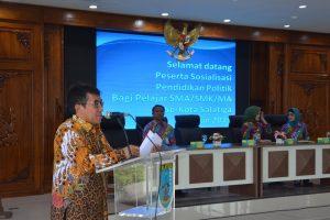 Wawali Larang Siswa Bercita-cita Menjadi Wakil Walikota