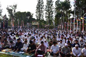 PHBI  Salatiga Gelar Sholat Idul Adha di Halaman Pemkot