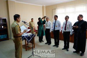 Walikota Lantik 3 Pejabat Fungsional