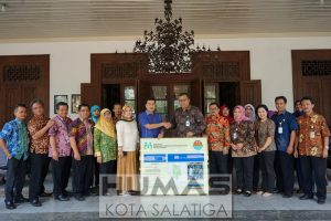 Walikota Terima Hasil Audit Sertifikasi RBRA Taman Tingkir