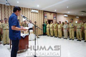 Wali Kota Lantik 171 Pejabat