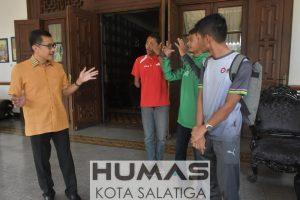 Turun ke Filipina, Atlet NPC Salatiga Pamit ke Walikota