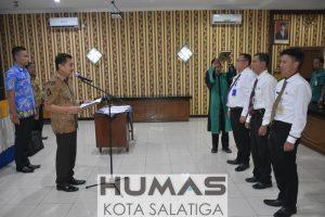 Walikota Lantik 3 Pejabat Baru