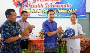Walikota Buka Pelatihan Pelatih Taekwondo
