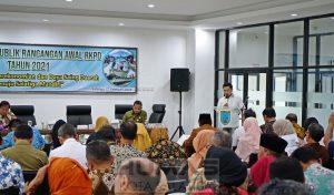 Himpun Masukan, Wali Kota Pimpin Konsultasi Publik Rancangan Awal RKPD 2021