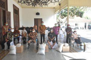 120 Penyandang Disabilitas Mendapat Santunan