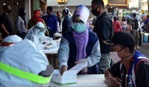 Pemkot Salatiga Lakukan Rapid Test Massal di Pasar Pagi