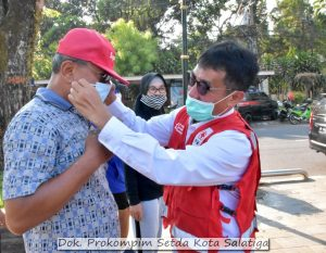 Peringati HUT PMI, Masyarakat Diminta Patuh Memakai Masker