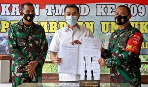 Buka TMMD Sengkuyung III, Wali Kota Ingatkan Pentingnya Protokol Kesehatan