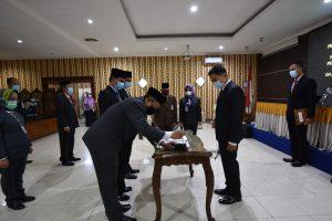 Wali Kota Lantik 207 Orang Pejabat Baru