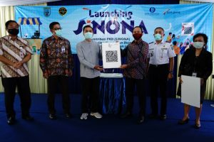 Wali Kota Launching SiNONA