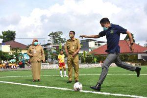 Lapangan Baru, Bakat Pesepakbola Bisa Meningkat