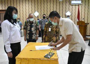 Wali Kota Lantik 103 Pejabat Fungsional Baru