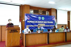 Pegawai RSUDDapatkan Pembinaan Hukum
