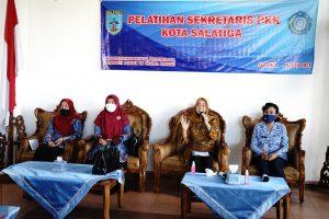 Pelatihan Sekretaris PKK Kota Salatiga