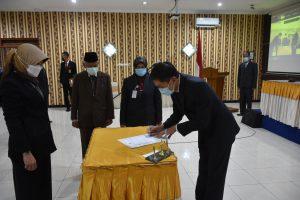 Wali Kota Lantik 107 Pejabat Baru