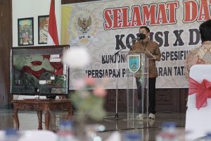 Terima Kunker DPR RI, Wali Kota Tegaskan Kota Salatiga Siap PTM