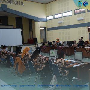 Menghindari terjadinya kerumunan, Penerimaan Peserta Didik Baru (PPDB) Kota Salatiga tahun 2021/2022 dilaksanakan secara online