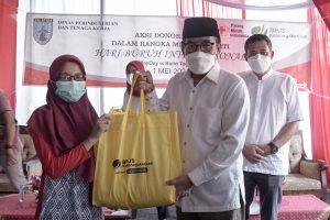 Donor Darah Warnai Perayaan May Day di Kota Salatiga