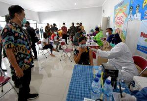 Percepat Vaksinasi, Kota Salatiga Lakukan  Serbu Vaksin