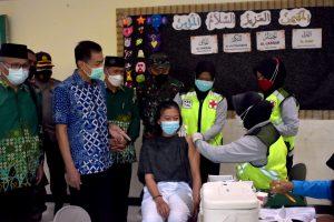 Vaksinasi Kota Salatiga Telah Mencapai 91,71 %