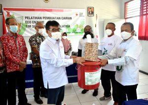 32 Anggota Tim Sibat Ditempa Pembuatan Eco Enzyme
