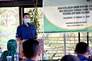 Wali Kota Ingatkan Tata Kelola Dan Pelayanan BPR Bank Salatiga Harus Baik